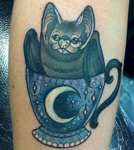 22 Unique Bat Tattoo Designs Ideas