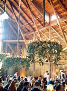24 Rustic Wedding Suspended Flowers Decor Ideas