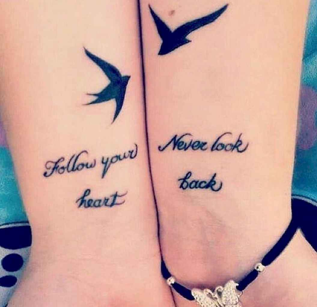 25 Awesome Small Best Friend Tattoo Designs Ideas