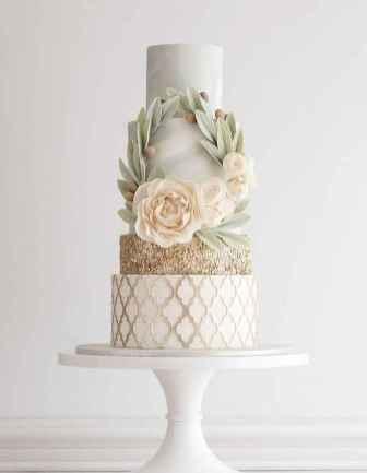 25 Green Wedding Cake Inspiration with Classy Design