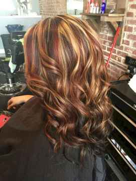 25 Unique Dark Brown Hair Color with Highlights Ideas