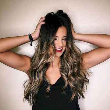 31 Unique Dark Brown Hair Color with Highlights Ideas
