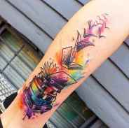 32 Awesome Book Tattoo Designs Ideas For Bookworms
