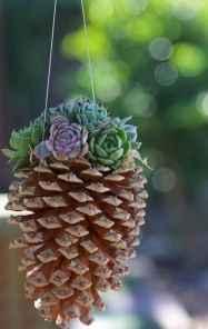 35 Rustic Wedding Suspended Flowers Decor Ideas
