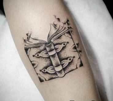 36 Awesome Book Tattoo Designs Ideas For Bookworms