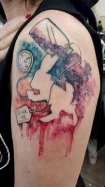 41 Most Beautiful Watercolor Tattoos Art Ideas