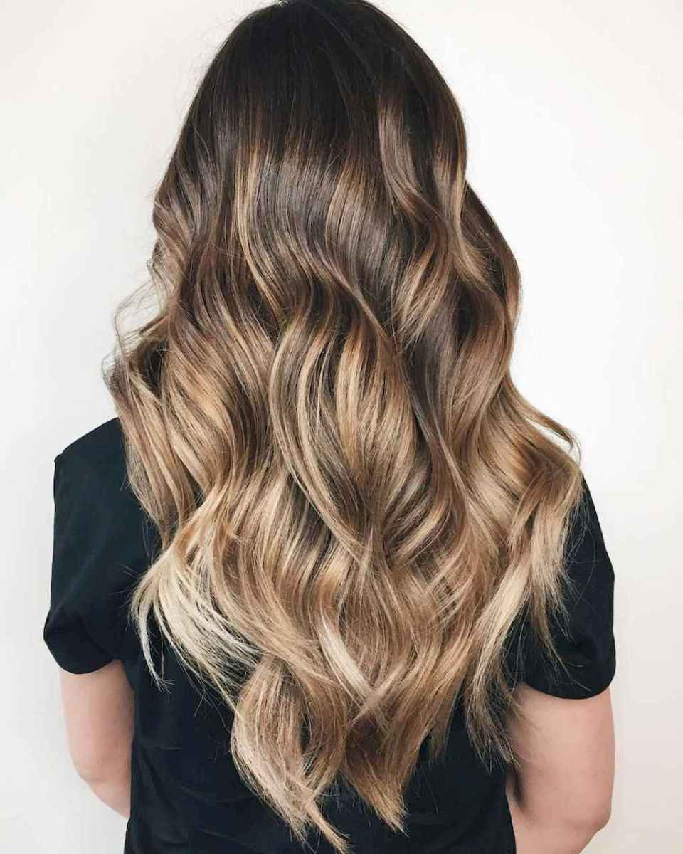 43 Beautiful Brunette Balayage Hair Color Ideas