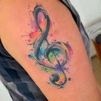 44 Most Beautiful Watercolor Tattoos Art Ideas