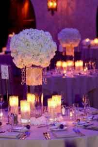 46 Romantic White Flower Centerpiece Decor Ideas