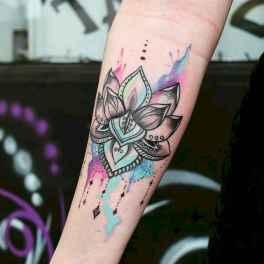 53 Most Beautiful Watercolor Tattoos Art Ideas
