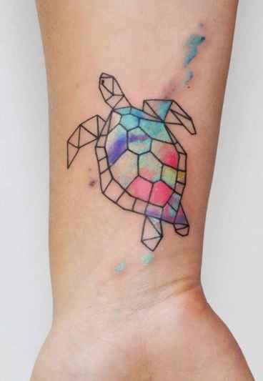 54 Most Beautiful Watercolor Tattoos Art Ideas
