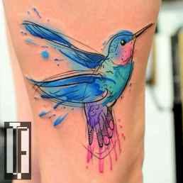 57 Most Beautiful Watercolor Tattoos Art Ideas
