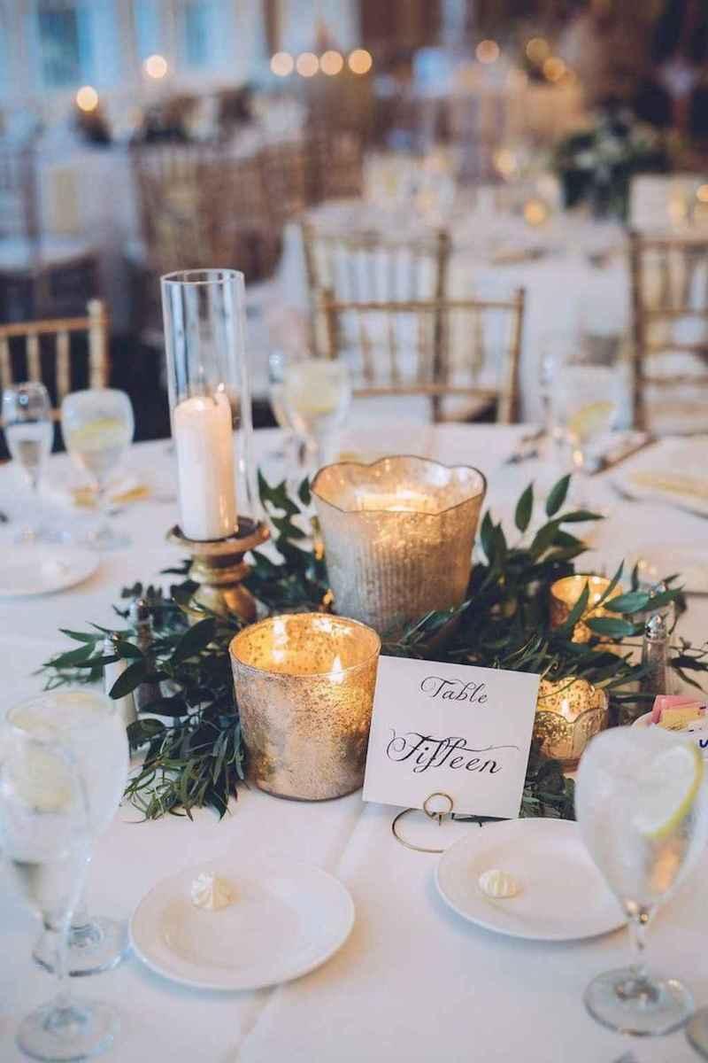 57 Romantic White Flower Centerpiece Decor Ideas
