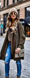 02 Beautiful Fall Outfits Ideas With Cardigan