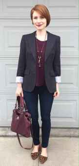 08 Elegant Work Outfits with Flats Every Woman Should Own