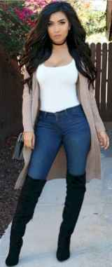 09 Beautiful Fall Outfits Ideas With Cardigan