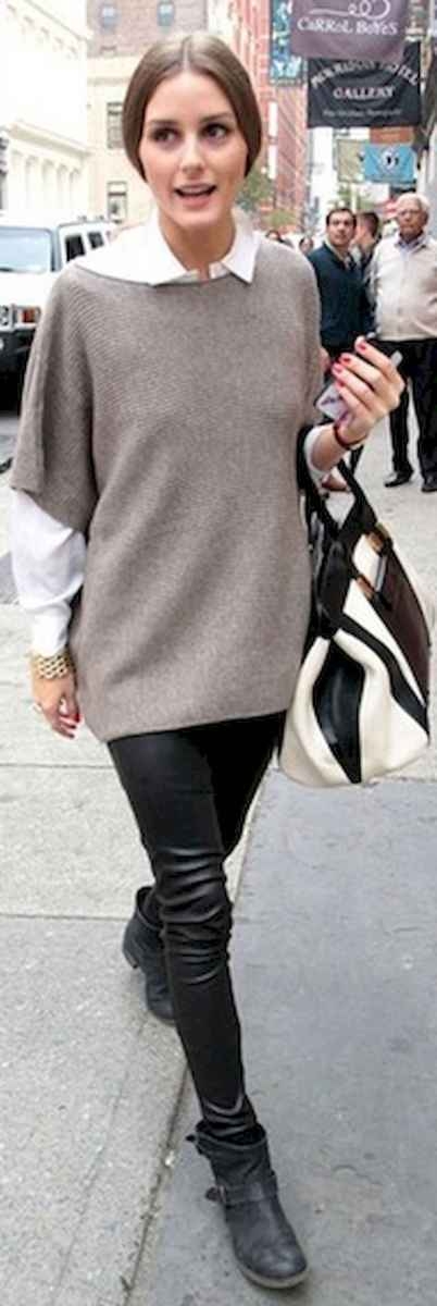 09 Trending Winter Outfits Oversized Poncho Outfit Ideas