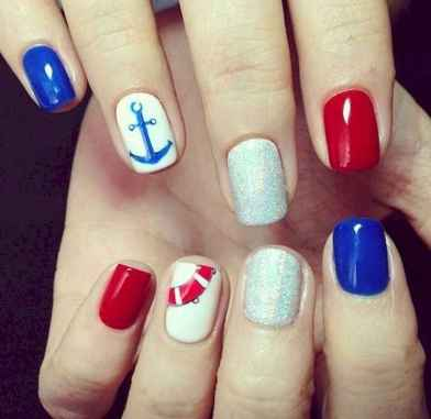 21 Special Summer Beach Nails Designs for Exceptional Look