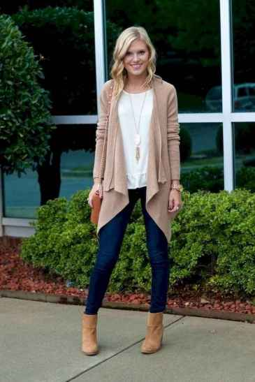 27 Beautiful Fall Outfits Ideas With Cardigan