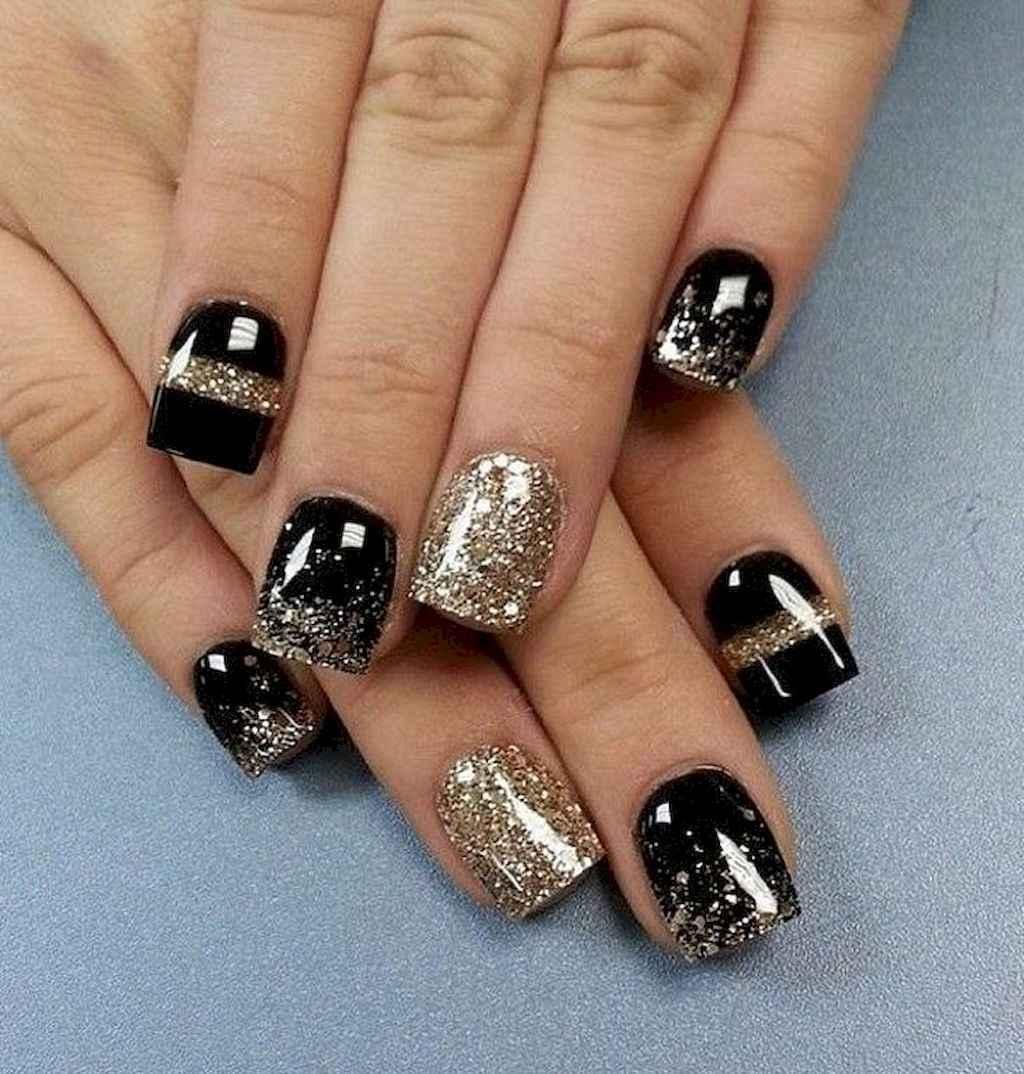 43 Elegant Black Nail Art Designs that You'll Love