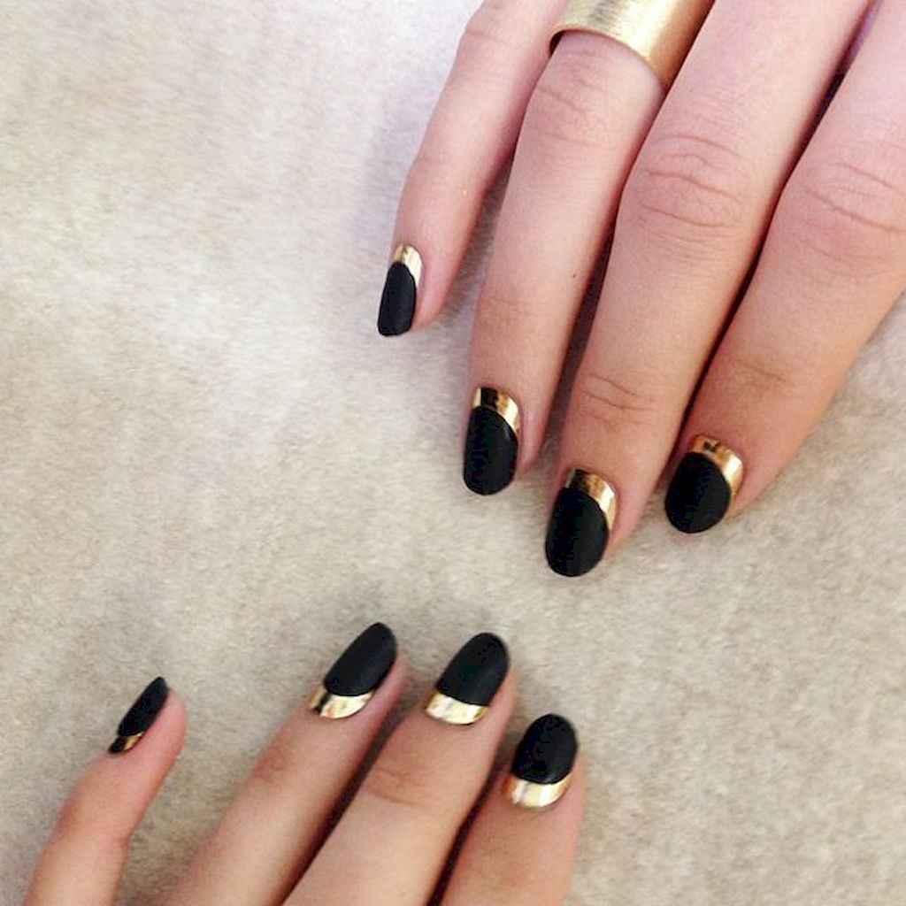 50 Elegant Black Nail Art Designs That Youll Love Bellestilo