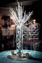 03 Beautiful Simple Winter Wedding Centerpieces Decor Ideas