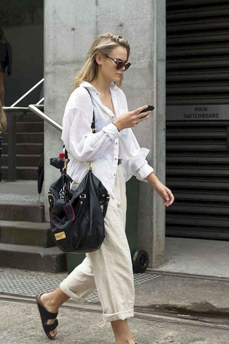 03 Elegant Beige Linen Pants Outfit Ideas