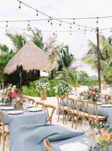 05 Romantic Tropical Wedding Ideas Reception Centerpiece