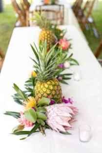 104 Romantic Tropical Wedding Ideas Reception Centerpiece