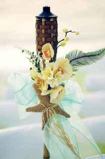 105 Romantic Tropical Wedding Ideas Reception Centerpiece