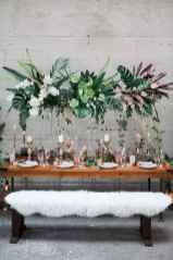 107 Romantic Tropical Wedding Ideas Reception Centerpiece