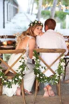 111 Romantic Tropical Wedding Ideas Reception Centerpiece
