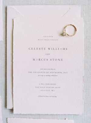13 Simple Inexpensive Wedding Invitations Ideas