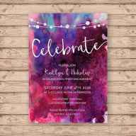 14 Inexpensive Engagement Party Invitations Ideas