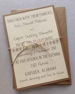 14 Simple Inexpensive Wedding Invitations Ideas