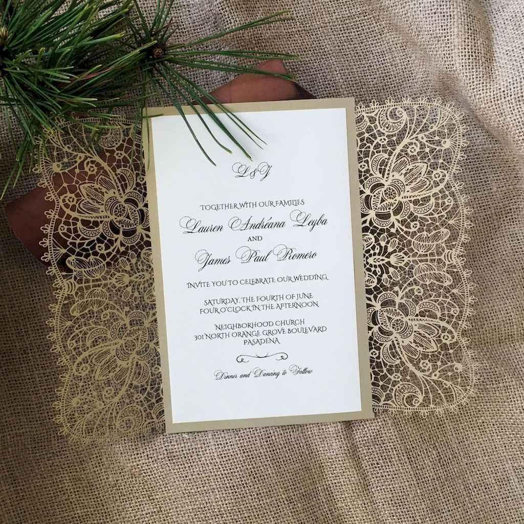 15 Simple Inexpensive Wedding Invitations Ideas