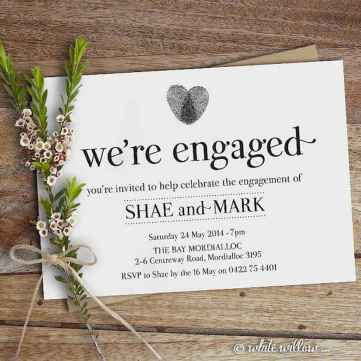 17 Inexpensive Engagement Party Invitations Ideas