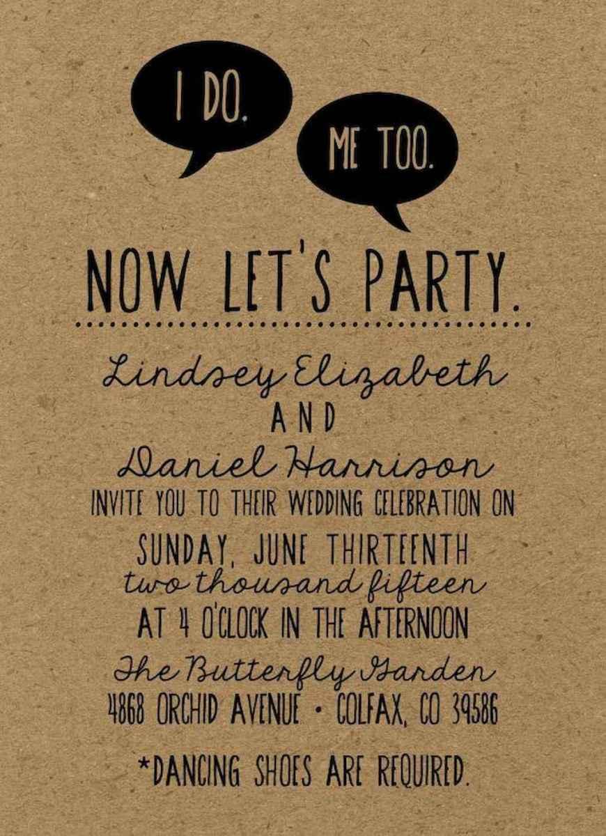 18 Simple Inexpensive Wedding Invitations Ideas