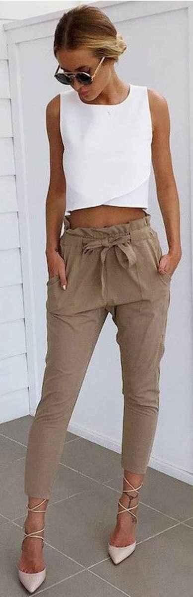 19 Elegant Beige Linen Pants Outfit Ideas