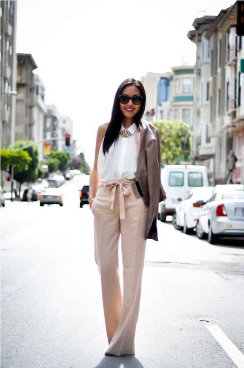 23 Elegant Beige Linen Pants Outfit Ideas
