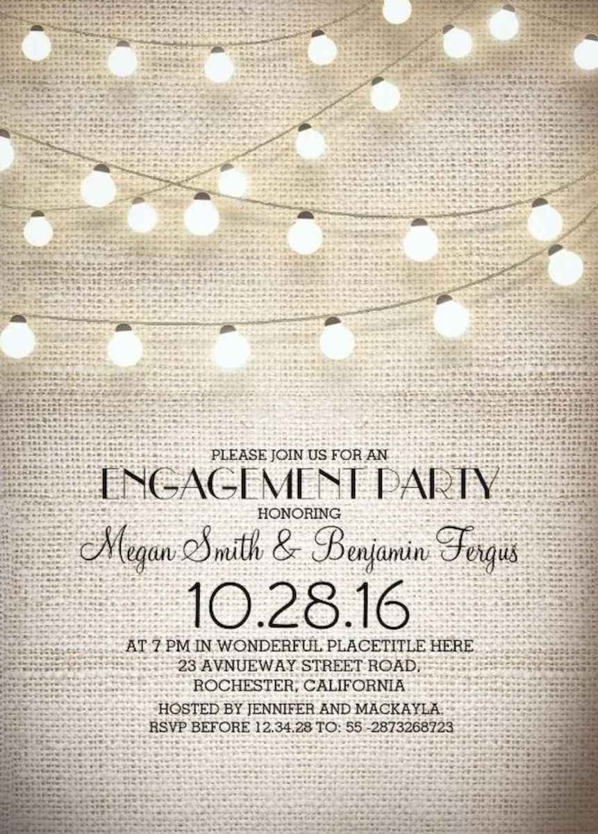 26 Inexpensive Engagement Party Invitations Ideas