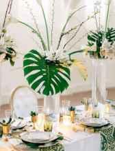 28 Romantic Tropical Wedding Ideas Reception Centerpiece