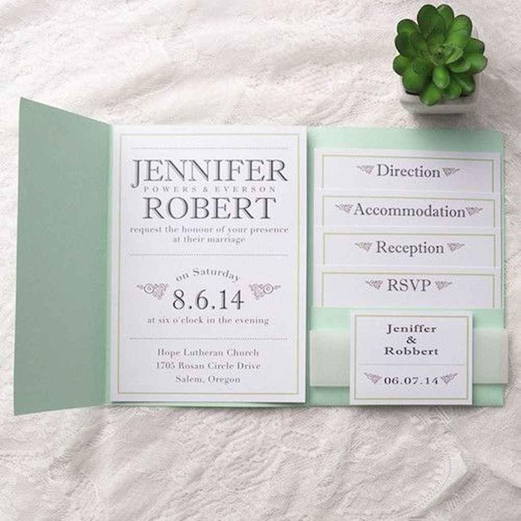 30 Simple Inexpensive Wedding Invitations Ideas