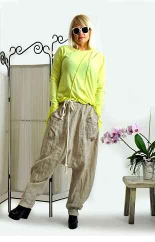 32 Elegant Beige Linen Pants Outfit Ideas