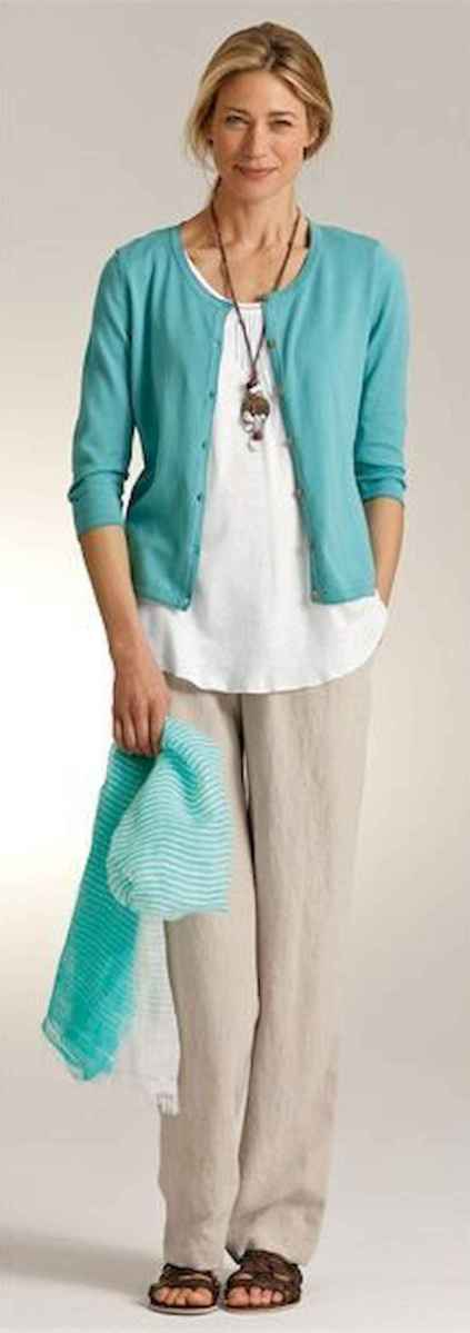 36 Elegant Beige Linen Pants Outfit Ideas