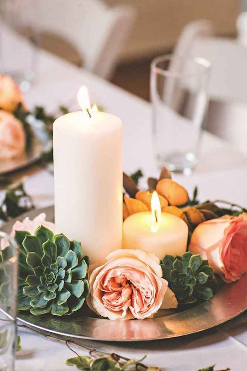 37 Simple and Easy Wedding Centerpiece Ideas