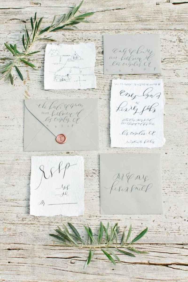 44 Simple Inexpensive Wedding Invitations Ideas