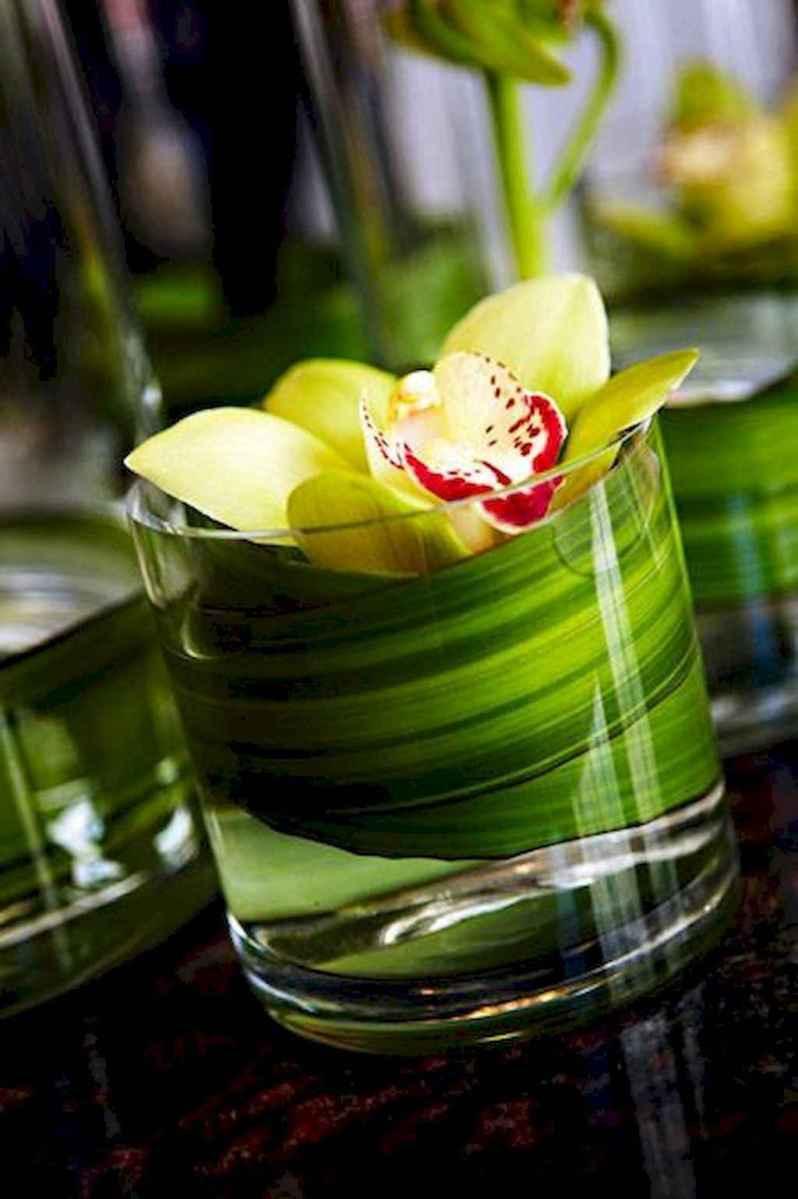 45 Romantic Tropical Wedding Ideas Reception Centerpiece