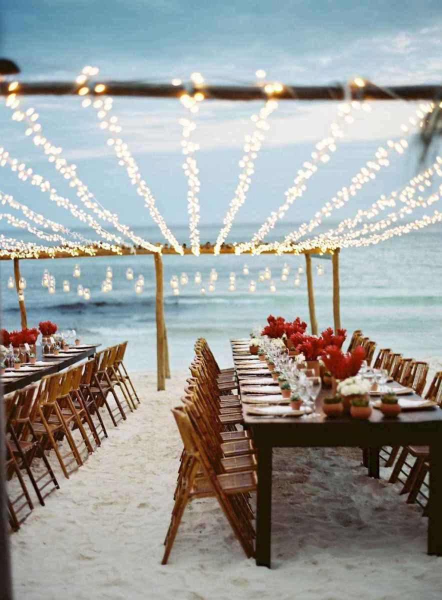 50 Romantic Tropical Wedding Ideas Reception Centerpiece