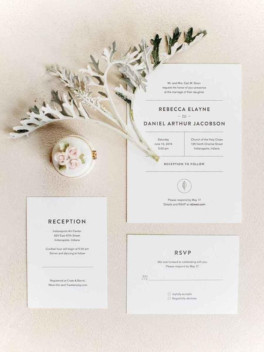 58 Simple Inexpensive Wedding Invitations Ideas